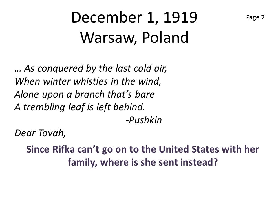 December 1, 1919 Warsaw, Poland