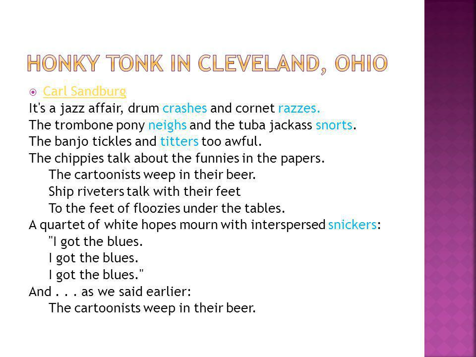 Honky tonk in cleveland, ohio