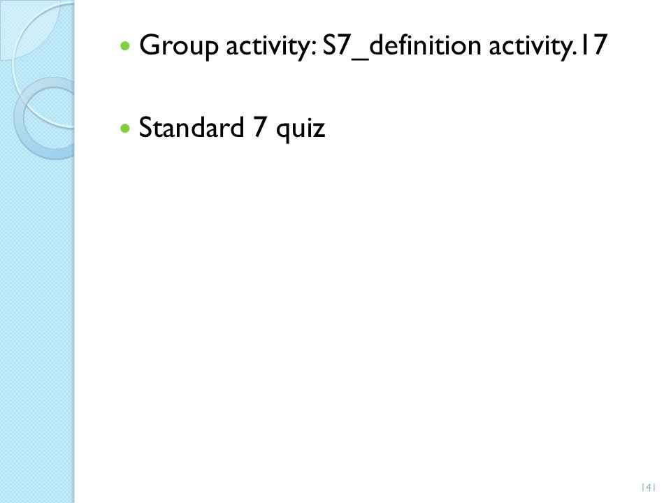 Group activity: S7_definition activity.17