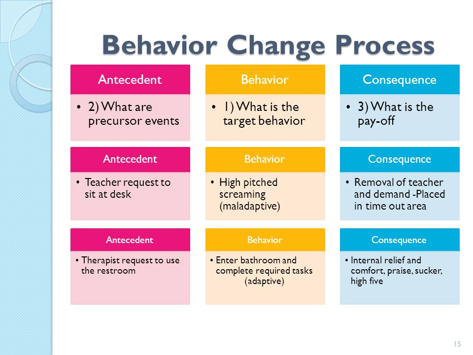 Behavior Change Process
