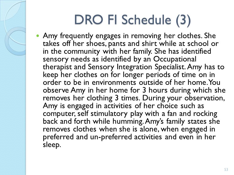 DRO FI Schedule (3)