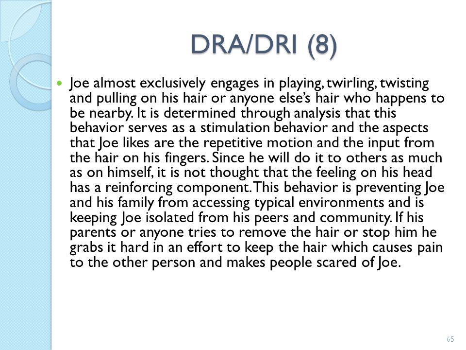 DRA/DRI (8)