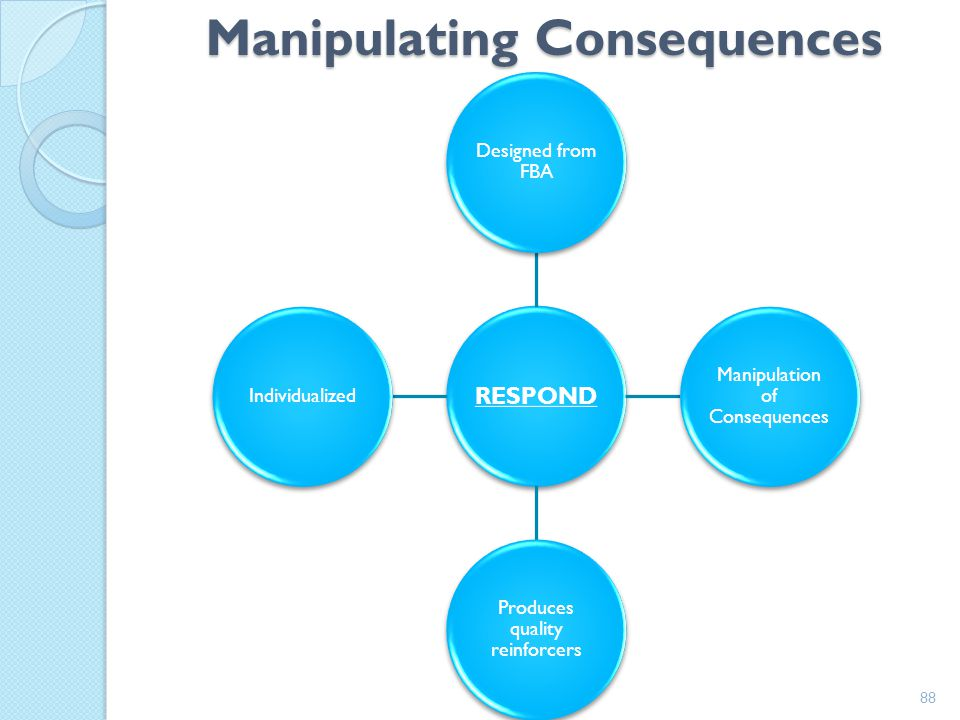 Manipulating Consequences
