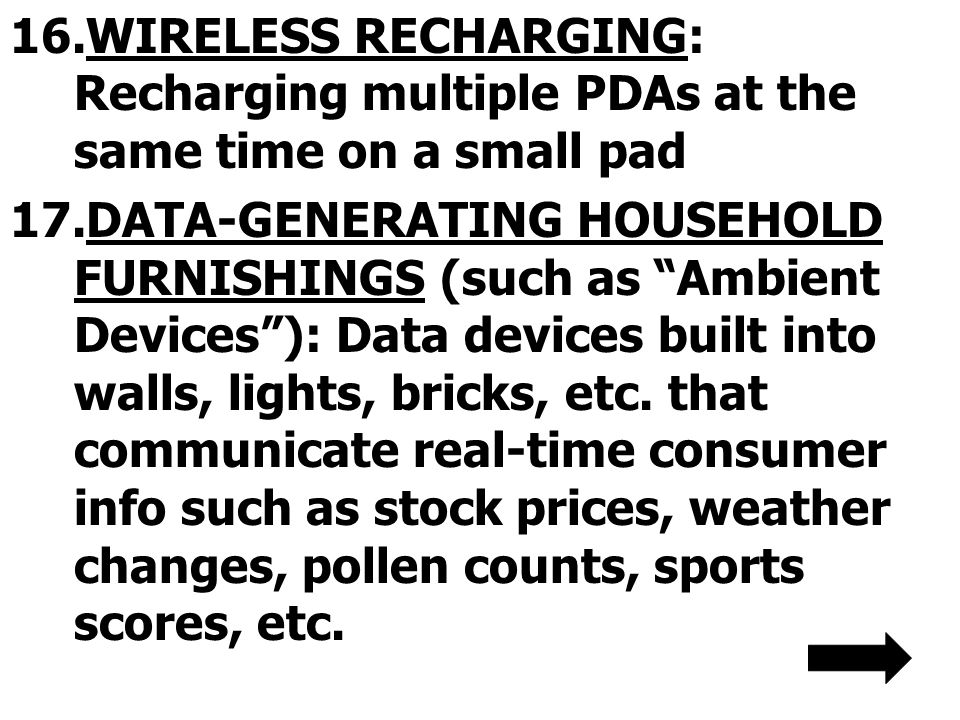 WIRELESS RECHARGING: Recharging multiple PDAs at the same time on a small pad