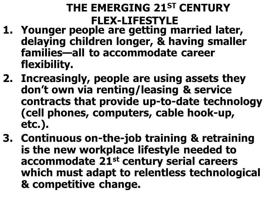 THE EMERGING 21ST CENTURY FLEX-LIFESTYLE