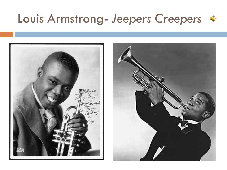 Louis Armstrong- Jeepers Creepers