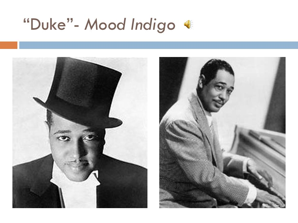 Duke - Mood Indigo