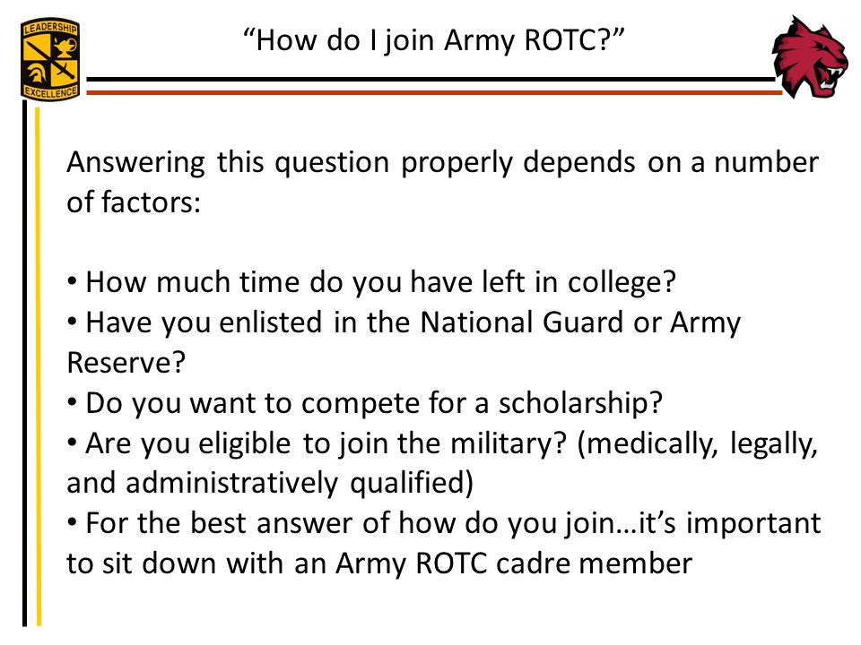 How do I join Army ROTC