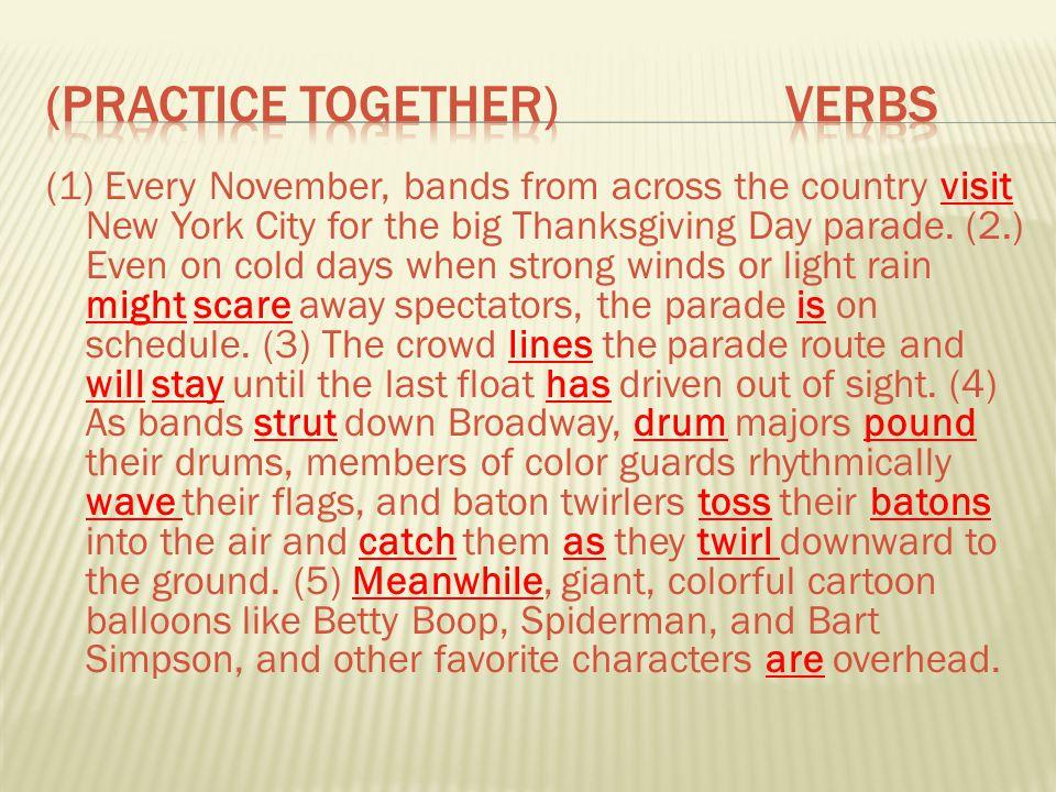 (Practice TOgether) Verbs