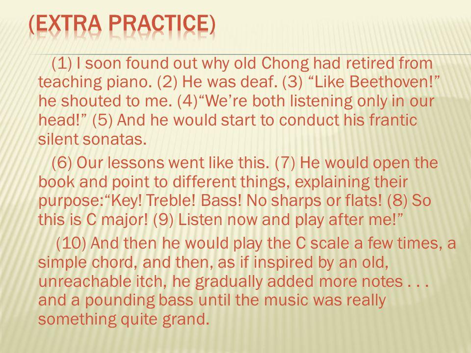 (Extra Practice)