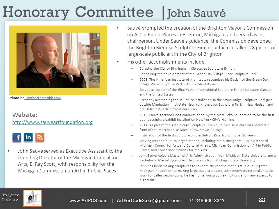 Honorary Committee |John Sauvé