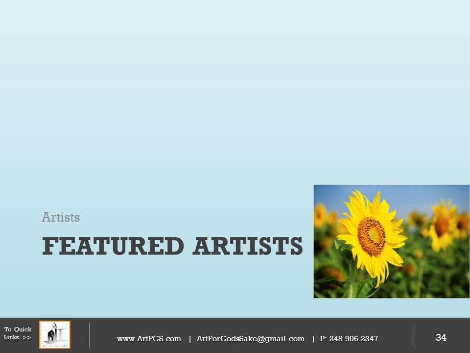 Featured Artists Artists 34