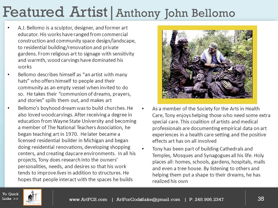 Featured Artist|Anthony John Bellomo