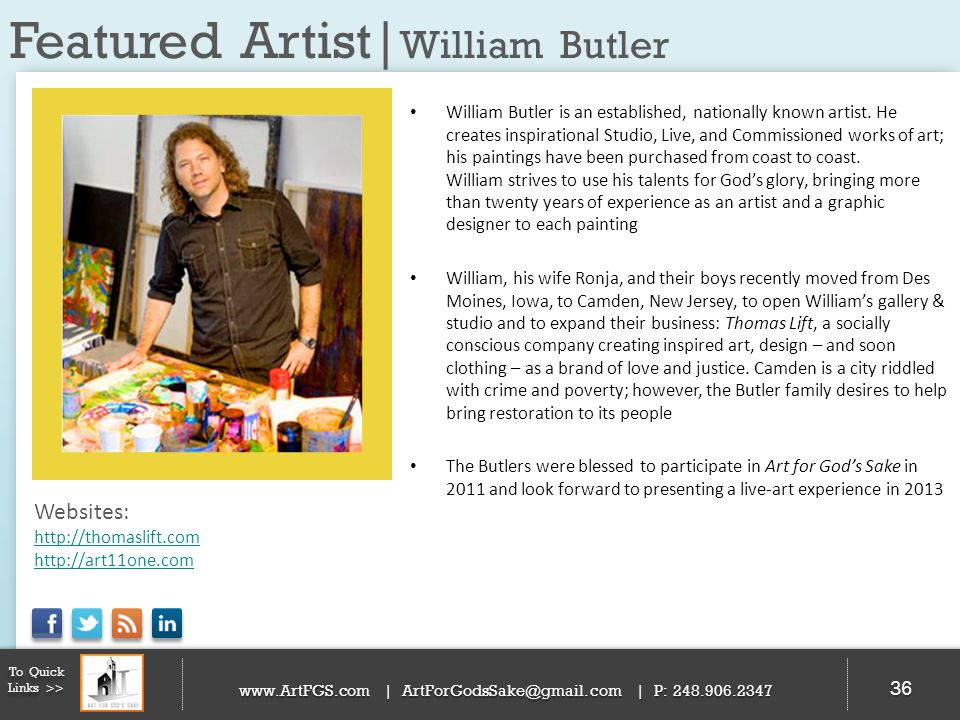 Featured Artist|William Butler