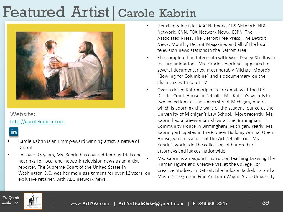 Featured Artist|Carole Kabrin
