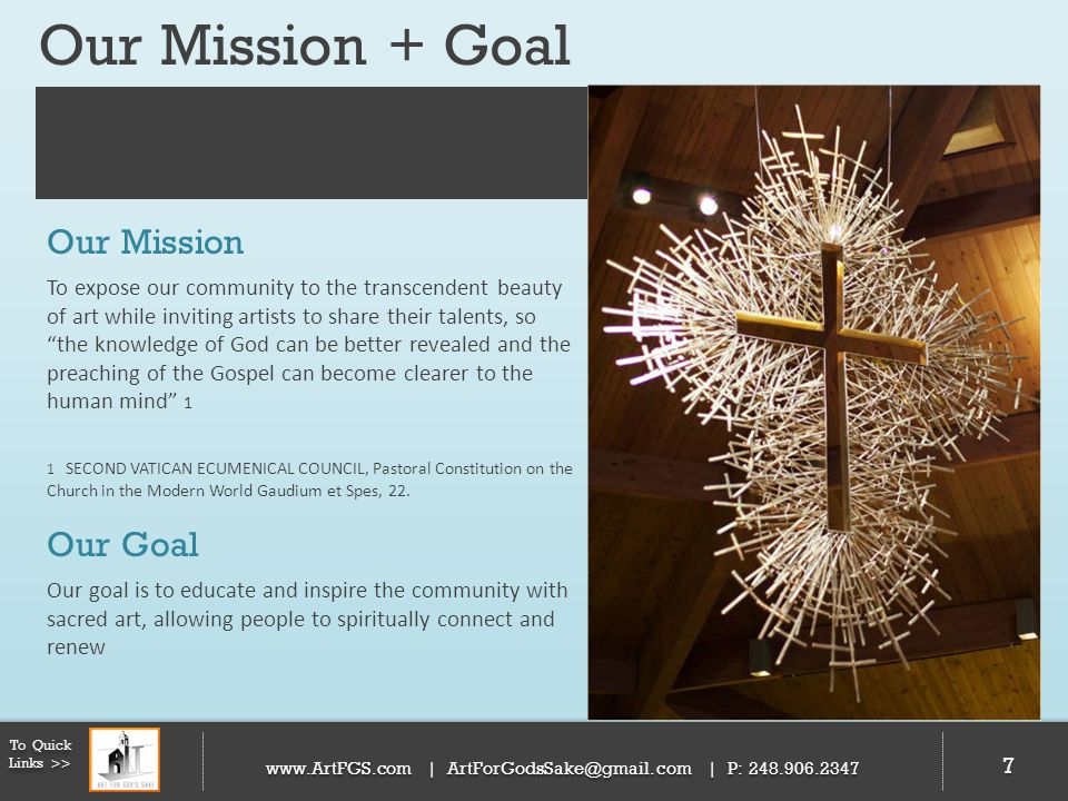 Our Mission + Goal Our Mission Our Goal