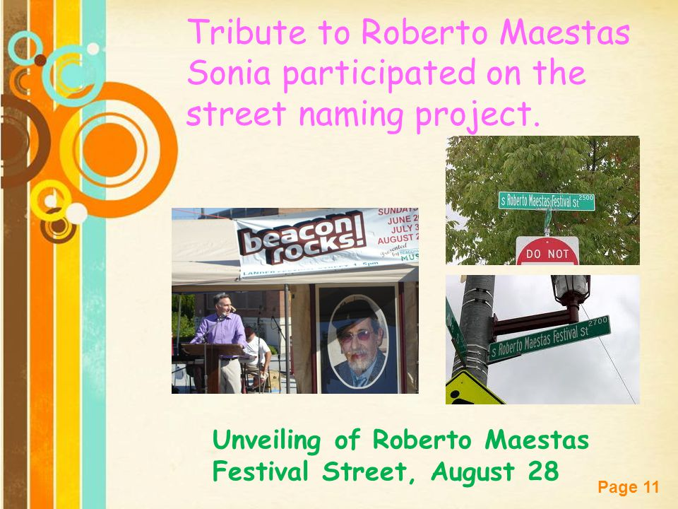 Tribute to Roberto Maestas