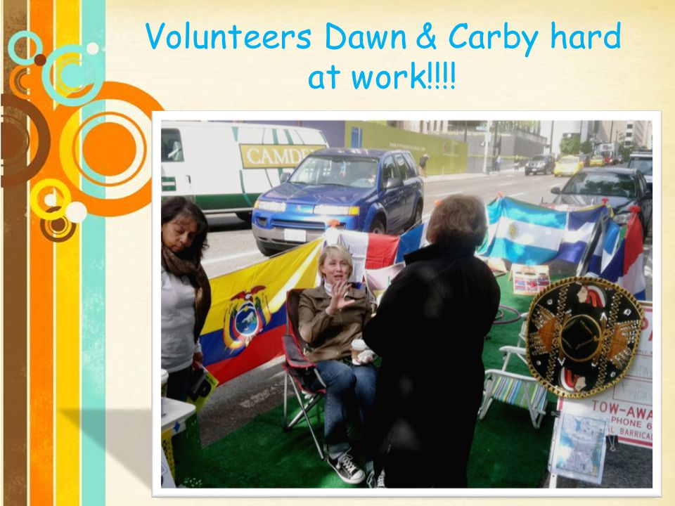 Volunteers Dawn & Carby hard at work!!!!