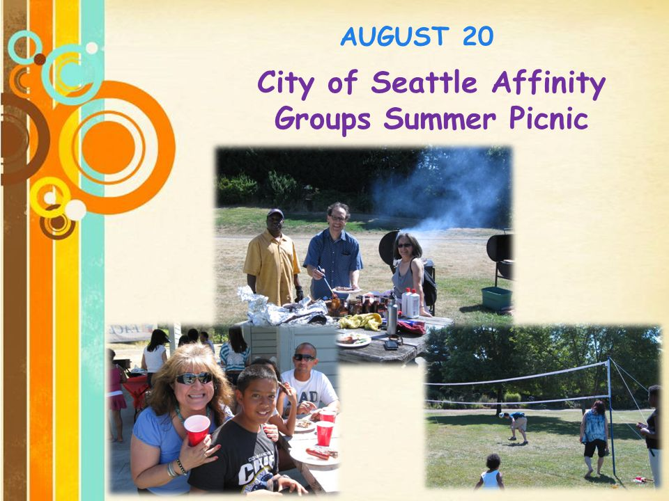 City of Seattle Affinity Groups Summer Picnic