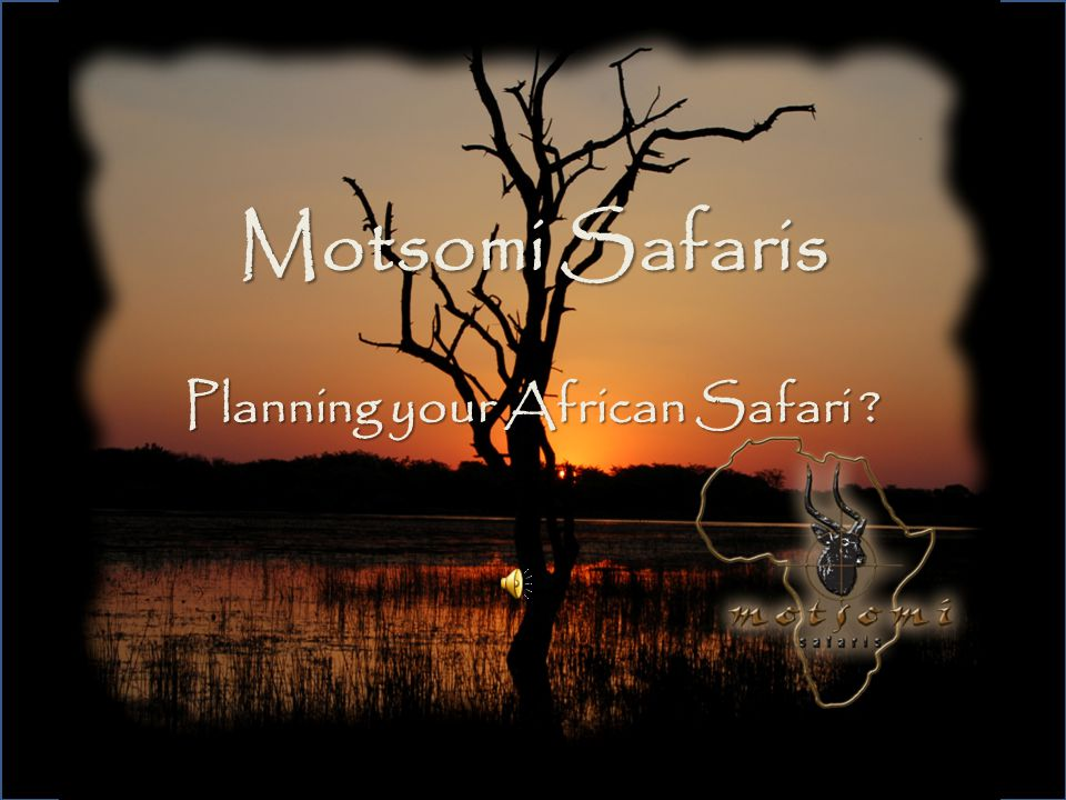 Motsomi Safaris Planning your African Safari