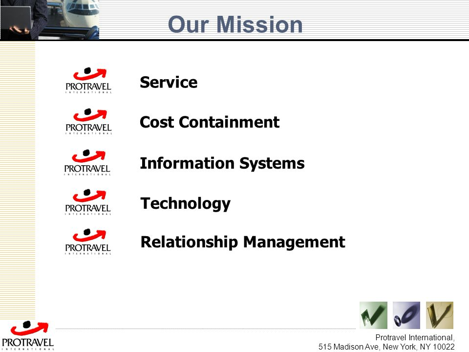 Our Mission Service Cost Containment Information Systems Technology