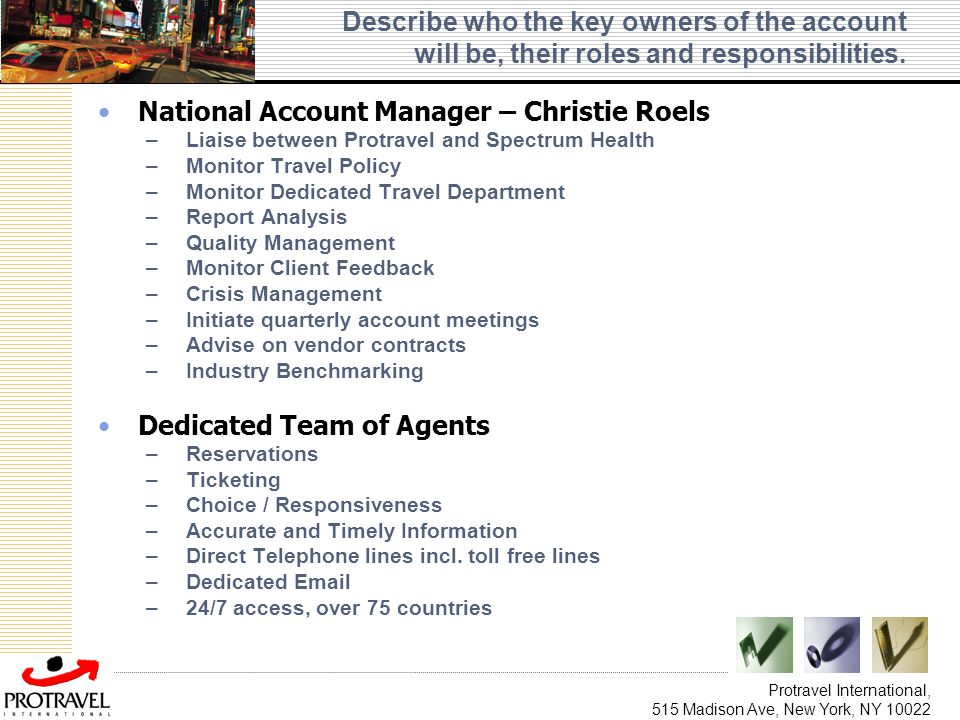 National Account Manager – Christie Roels