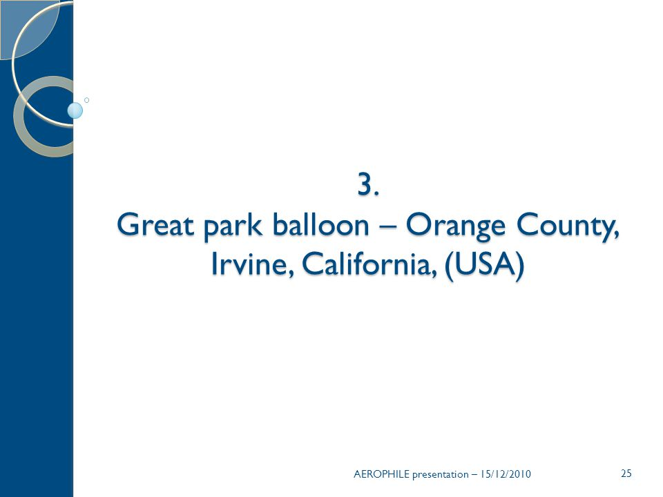 Great park balloon – Orange County, Irvine, California, (USA)