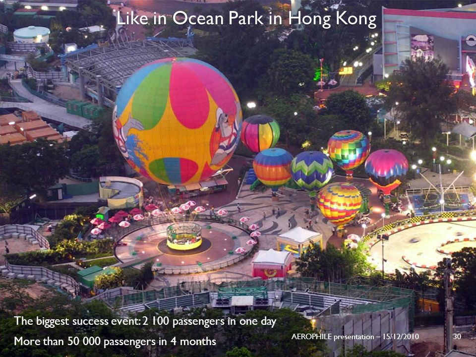 Like in Ocean Park in Hong Kong