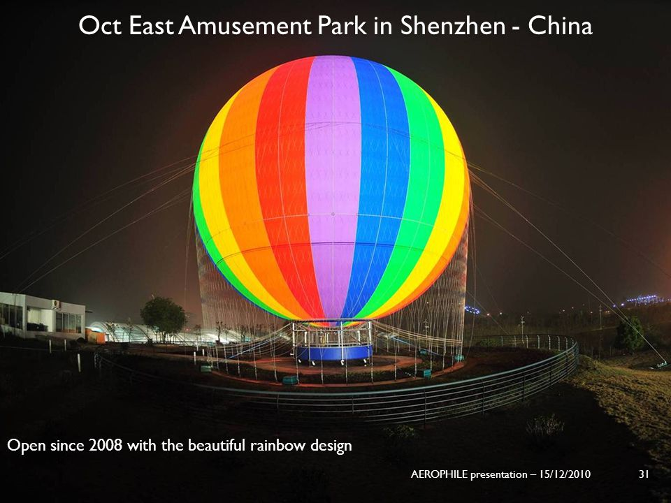 Oct East Amusement Park in Shenzhen - China