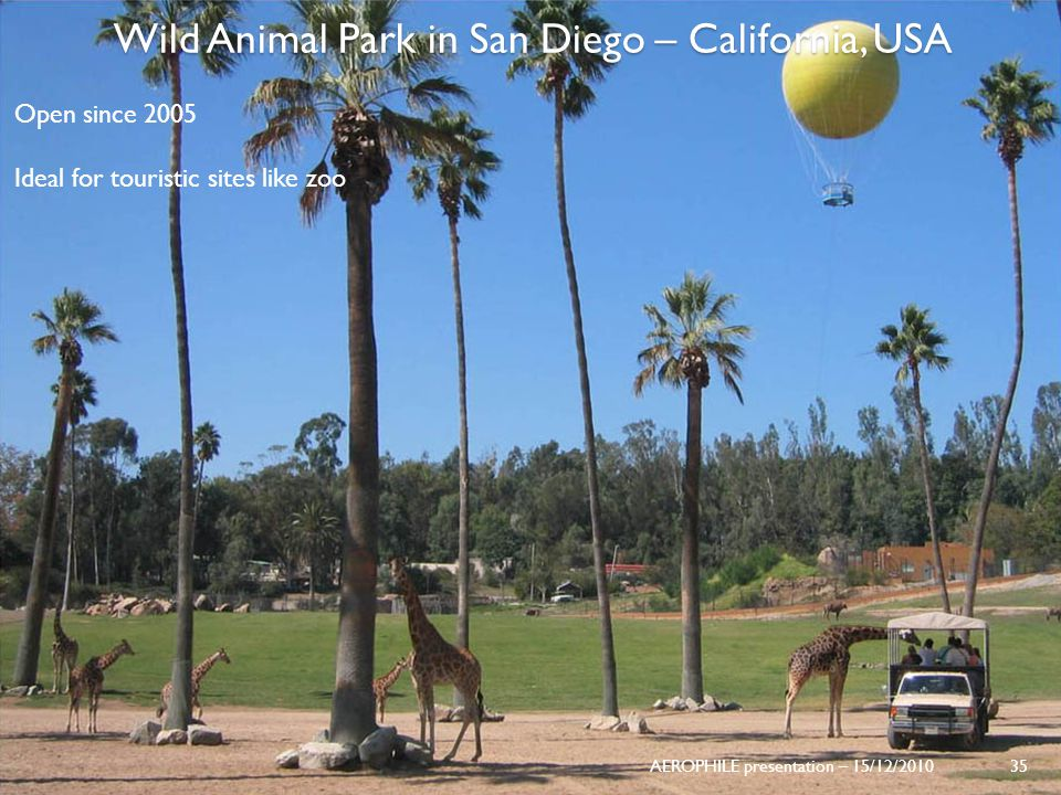 Wild Animal Park in San Diego – California, USA