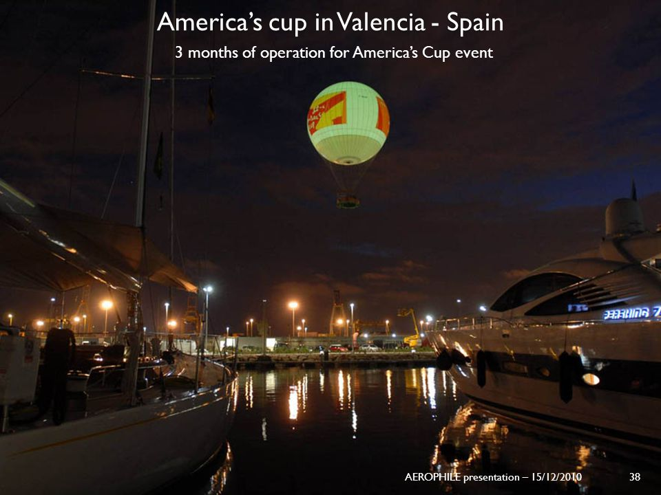 America's cup in Valencia - Spain
