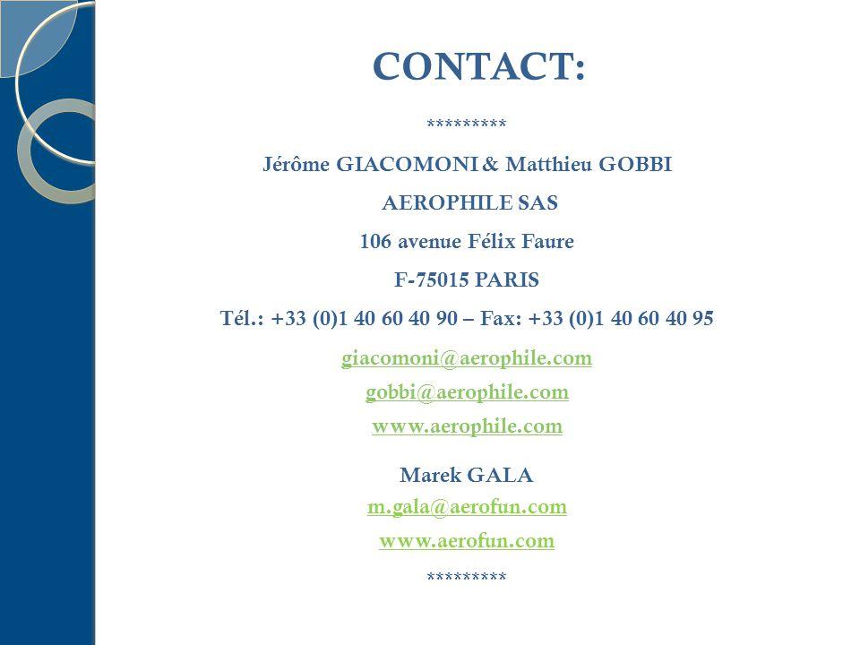 Jérôme GIACOMONI & Matthieu GOBBI