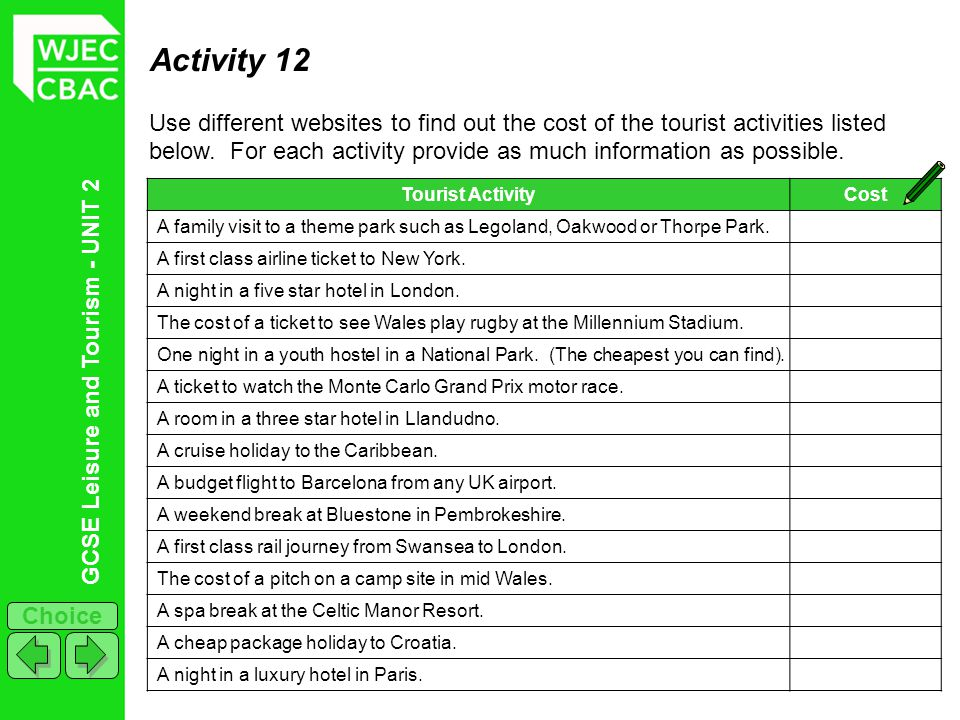 Activity 12