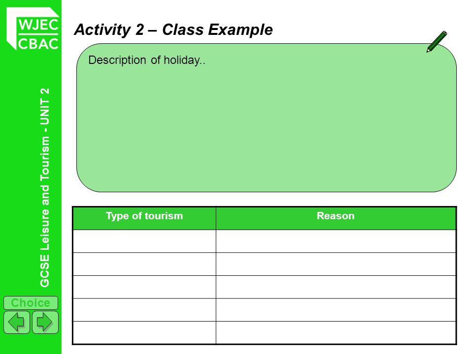 Activity 2 – Class Example