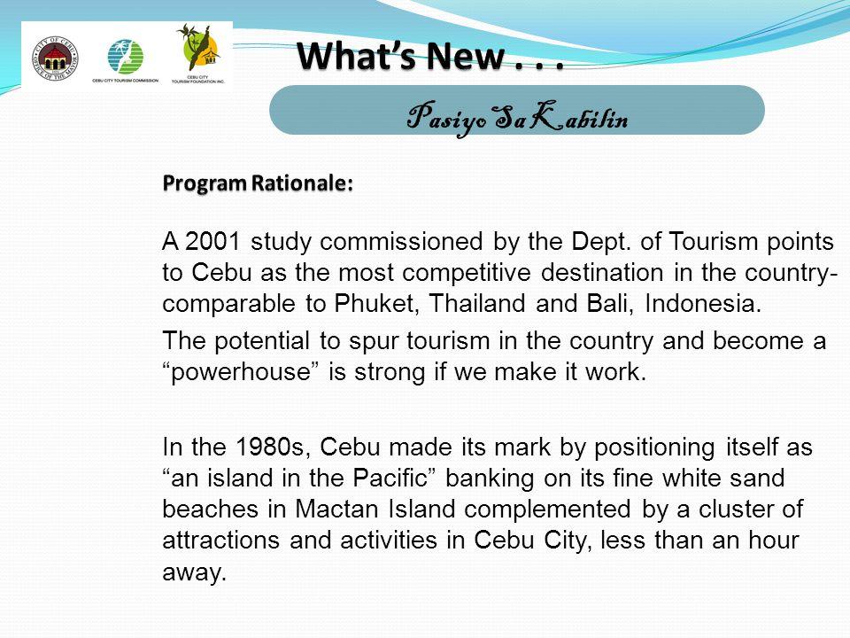 What's New . . . Pasiyo Sa Kabilin