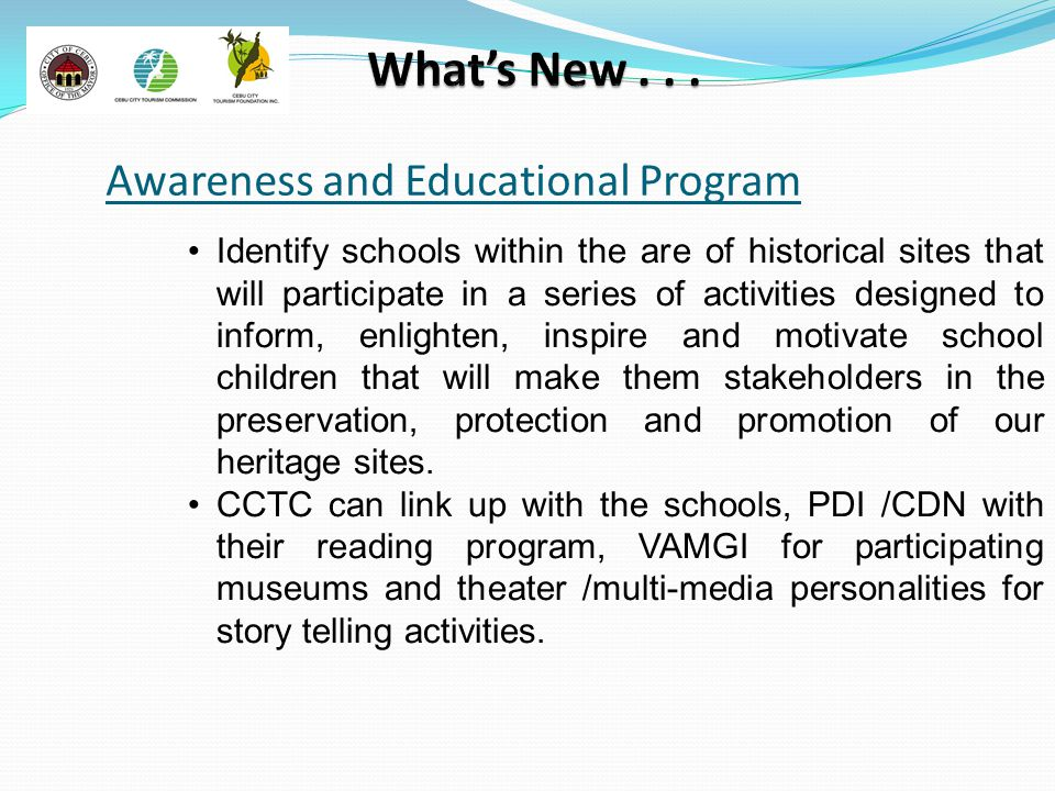 Awareness and Educational Program