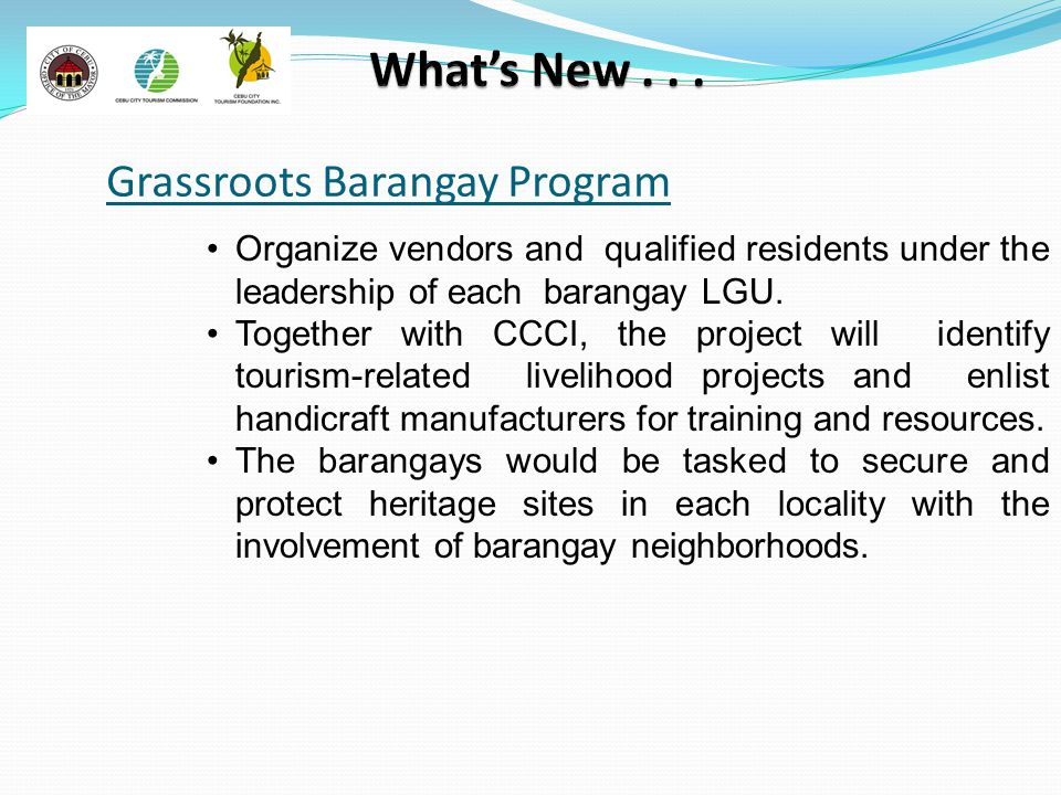 Grassroots Barangay Program