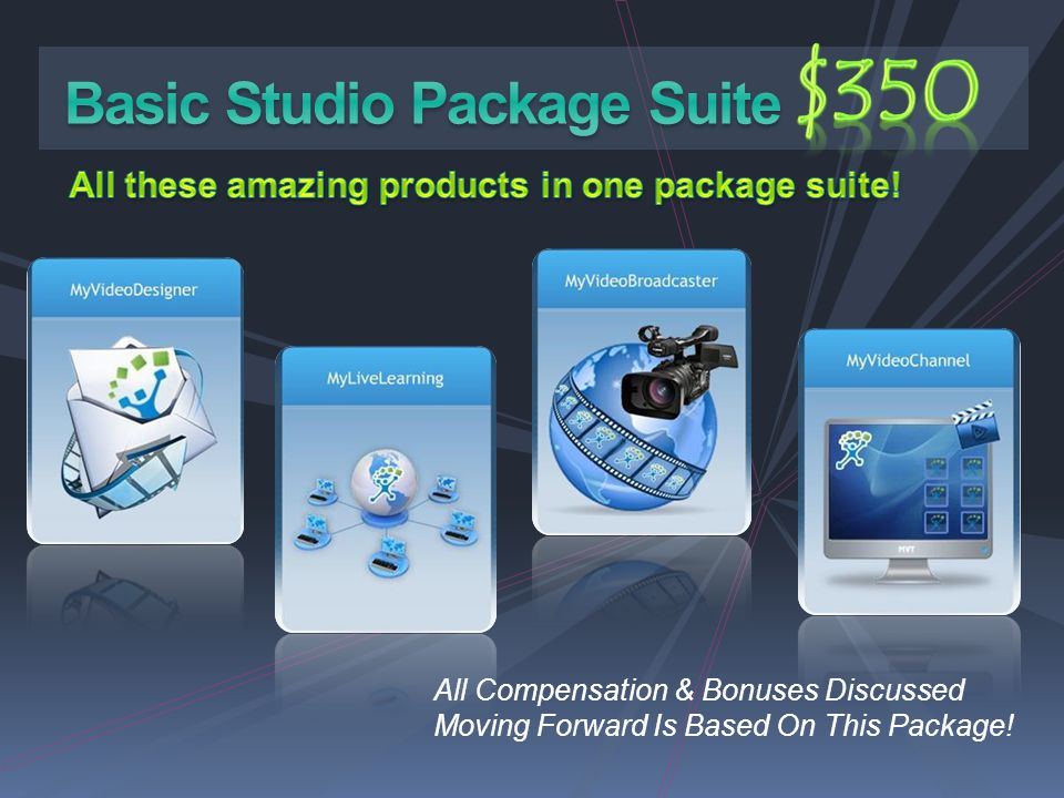 $350 Basic Studio Package Suite