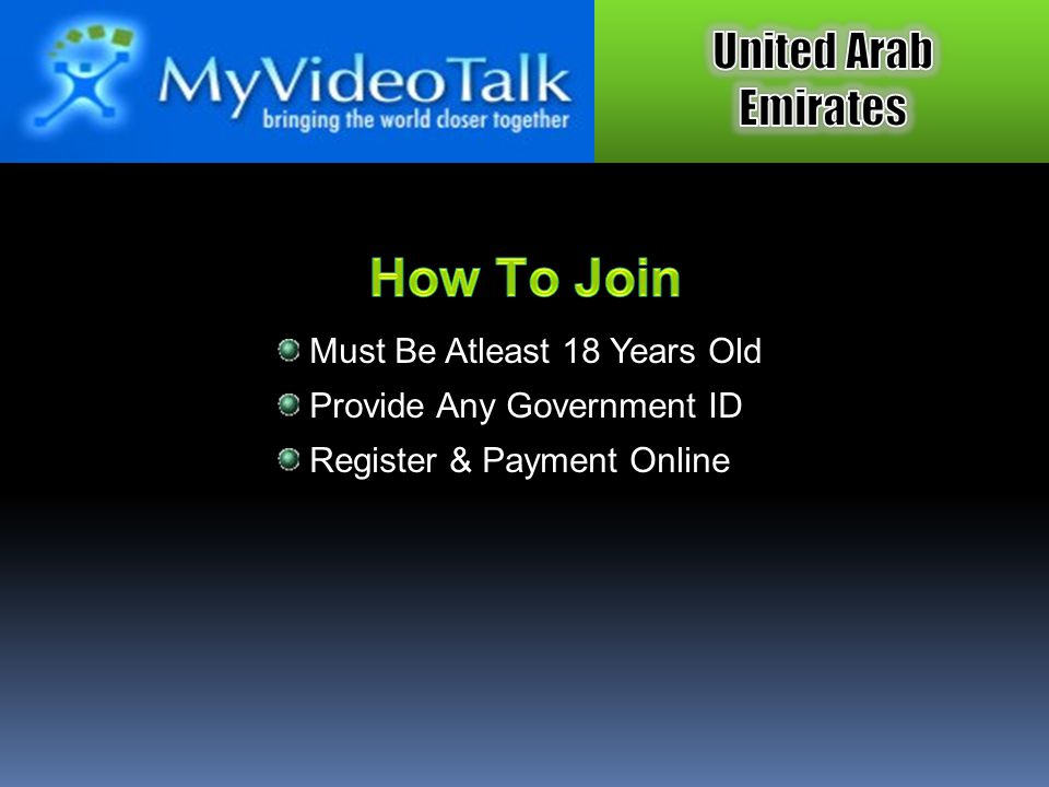 How To Join Must Be Atleast 18 Years Old Provide Any Government ID