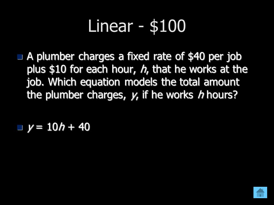 Linear - $100