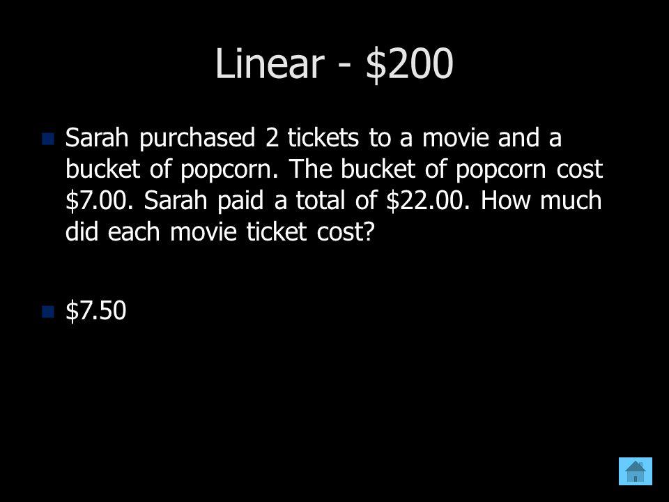 Linear - $200