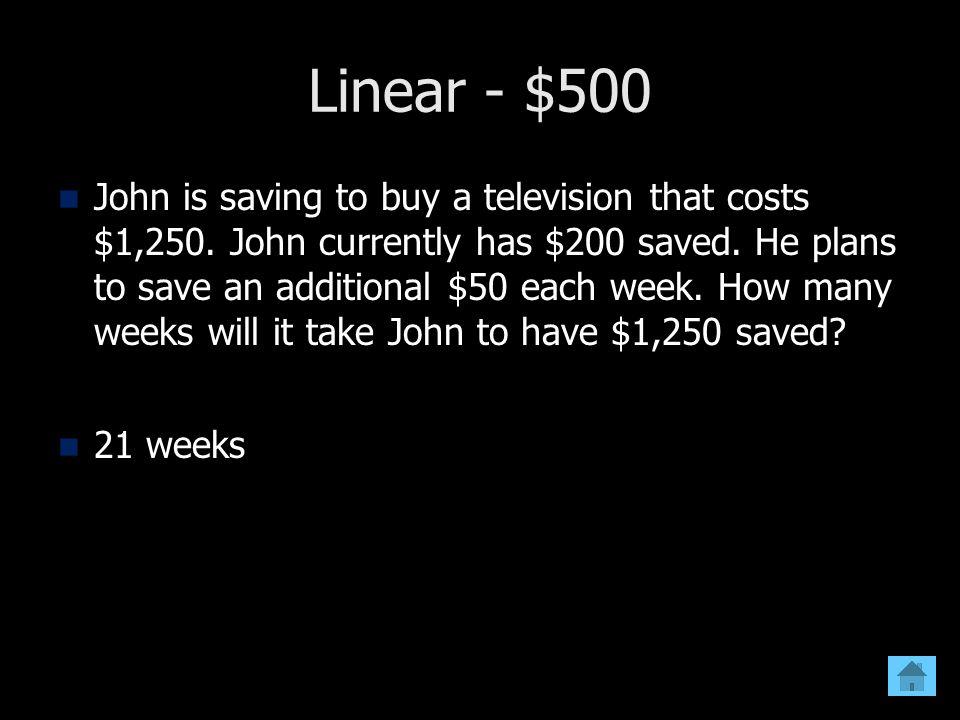 Linear - $500