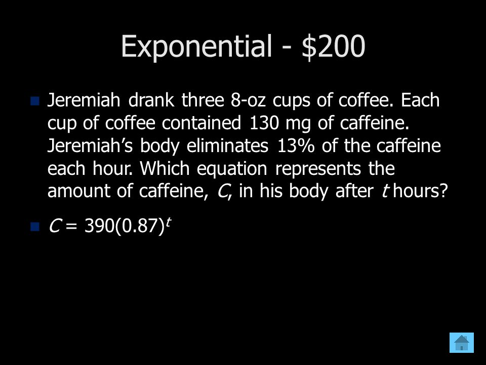 Exponential - $200