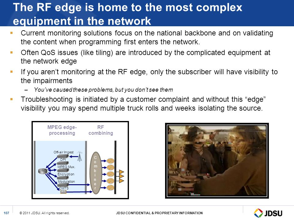 The RF edge is home to the most complex equipment in the network