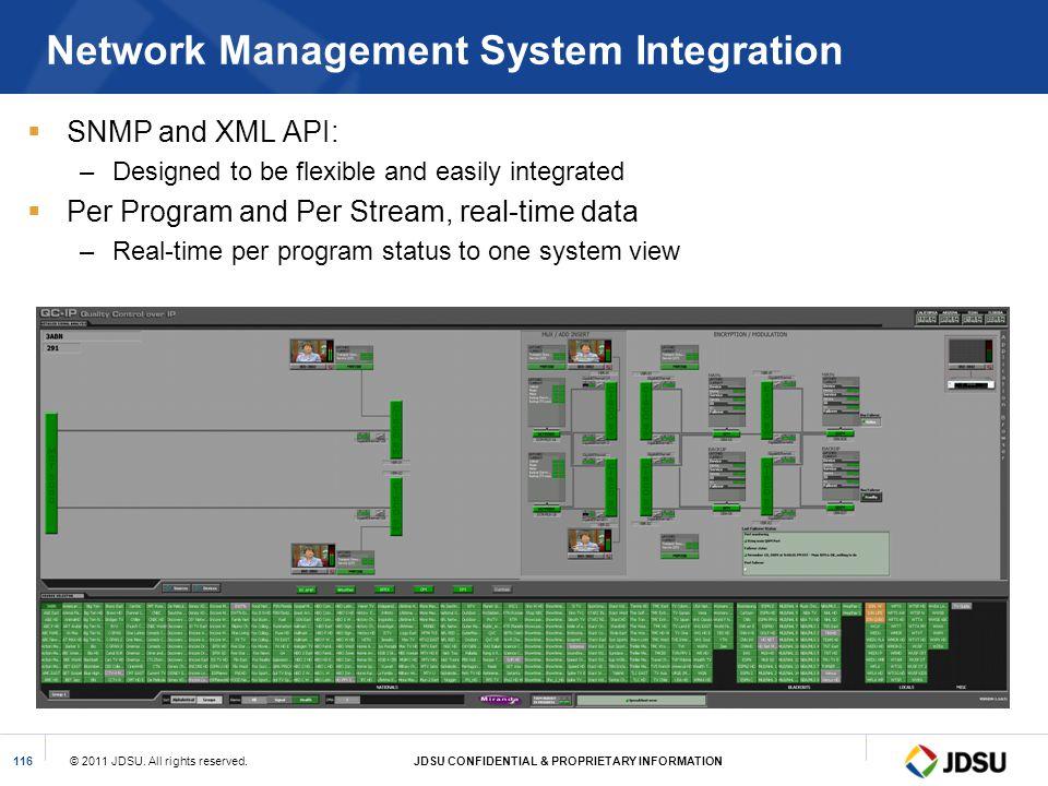 Network Management System Integration