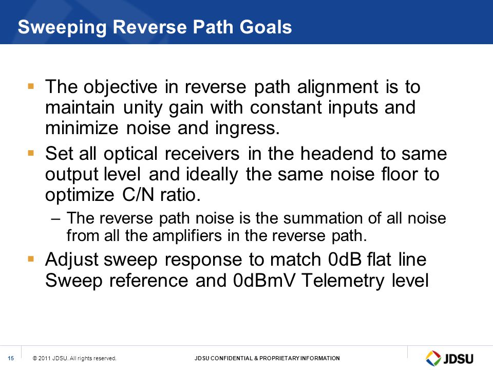 Sweeping Reverse Path Goals
