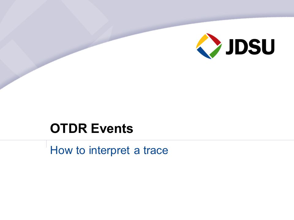 How to interpret a trace