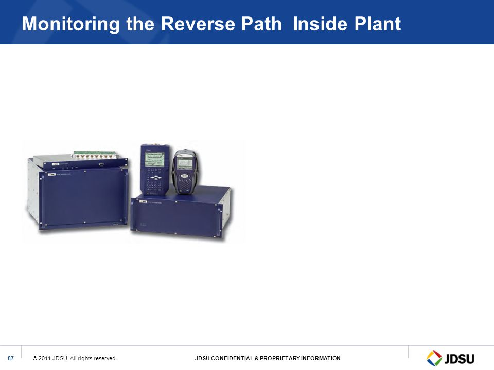 Monitoring the Reverse Path Inside Plant
