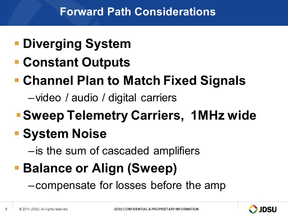 Forward Path Considerations