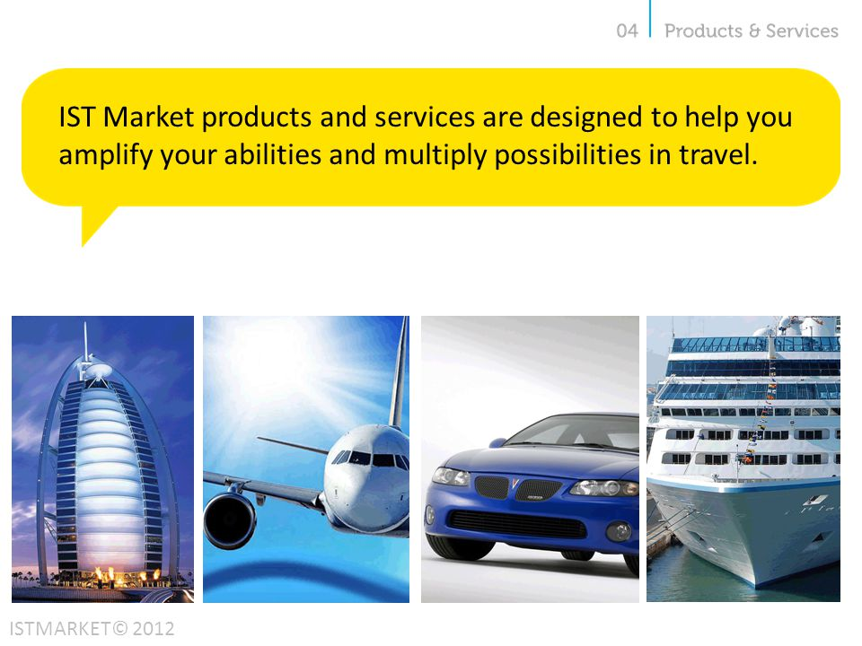 IST Market products and services are designed to help you